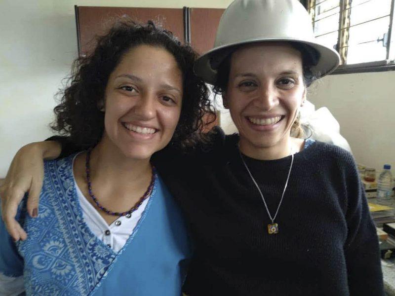 Monserrat Barrios y Valentina Oropeza Premio de la SIP