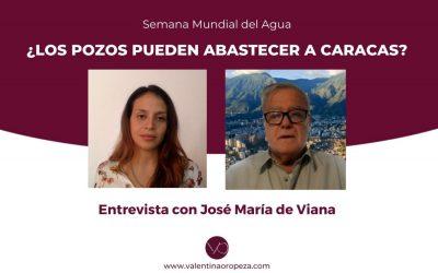 """""""No hay suficiente agua subterránea para Caracas"""""""
